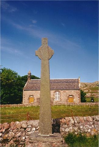 Celtic cross, Iona Scotland
