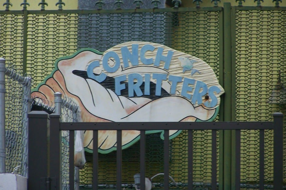 Conch Fritter Sign