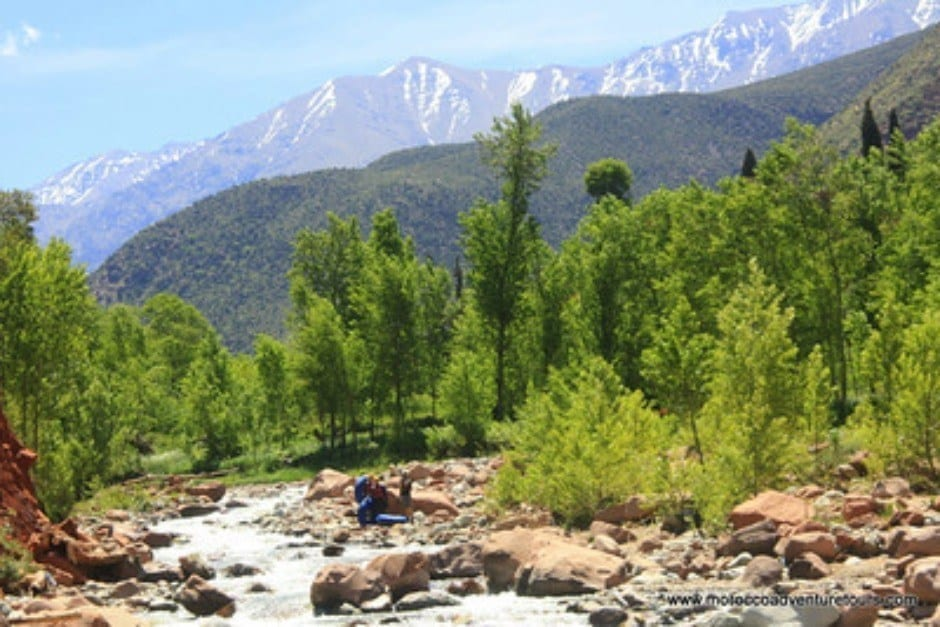 White Water Rafting Ourika Valley