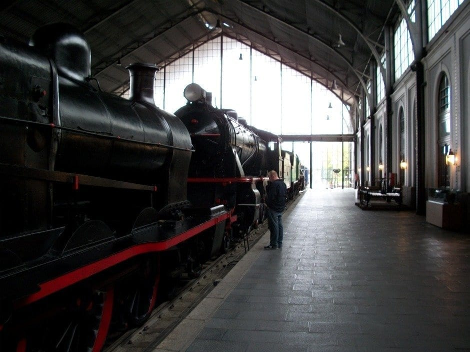 Madrid Railroad Museum Spain