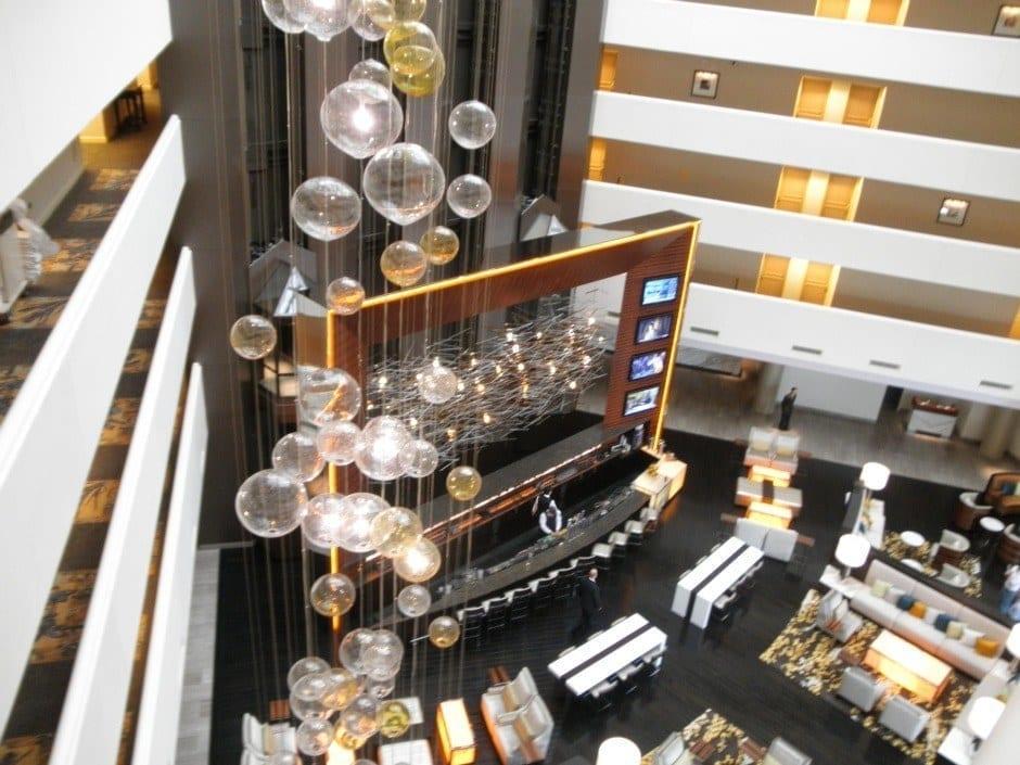 Hilton McLean lobby
