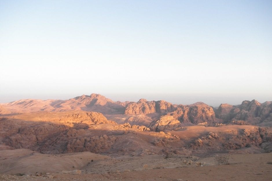 Petra Mountains