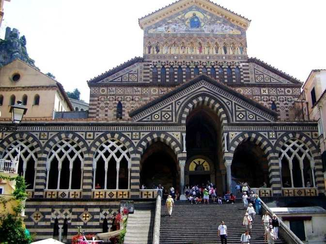 Saint Andrew Patron Amalfi Coast