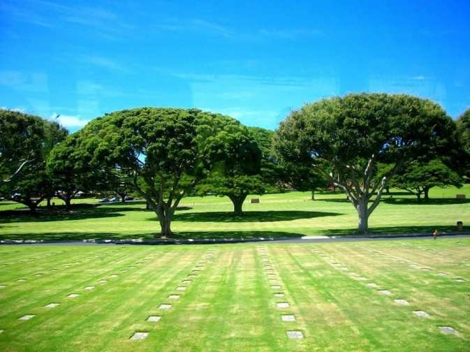 National Cemetery of the Pacific, Honolulu Hawaii