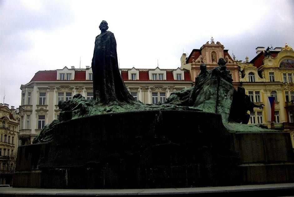 Jan Hus Monument Prague