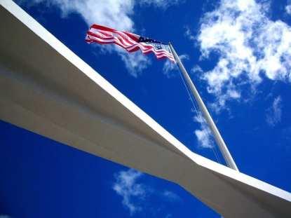 US Flag Pearl Harbor