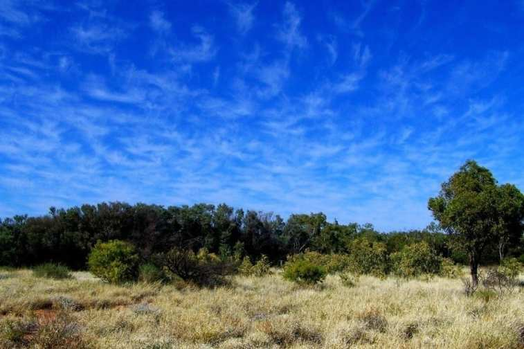 Australian Outback sky