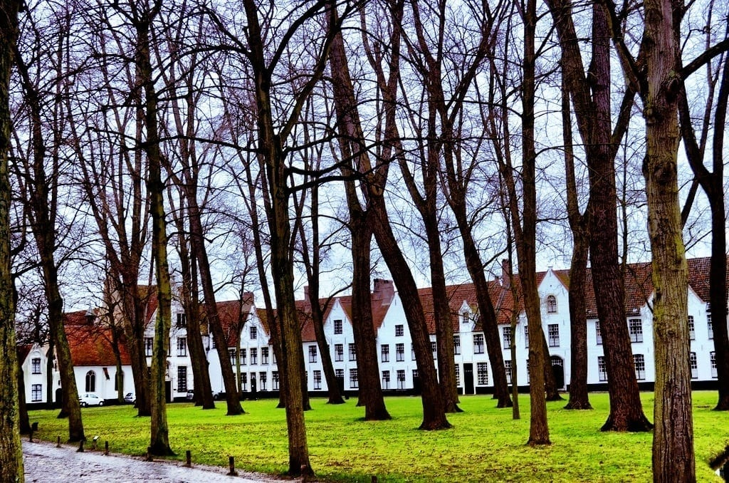 Beguinage in Bruges, Belgium