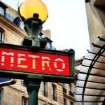 Even a metro sign can have design style
