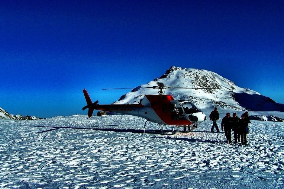 New Zealand helicopter tour