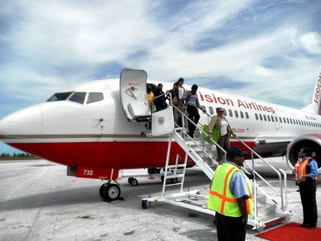 Bahamas arrival
