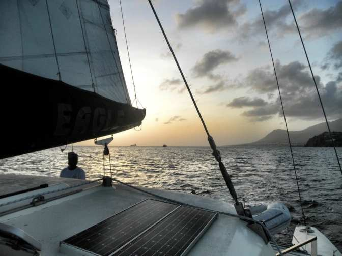 Sailing in St. Kitts