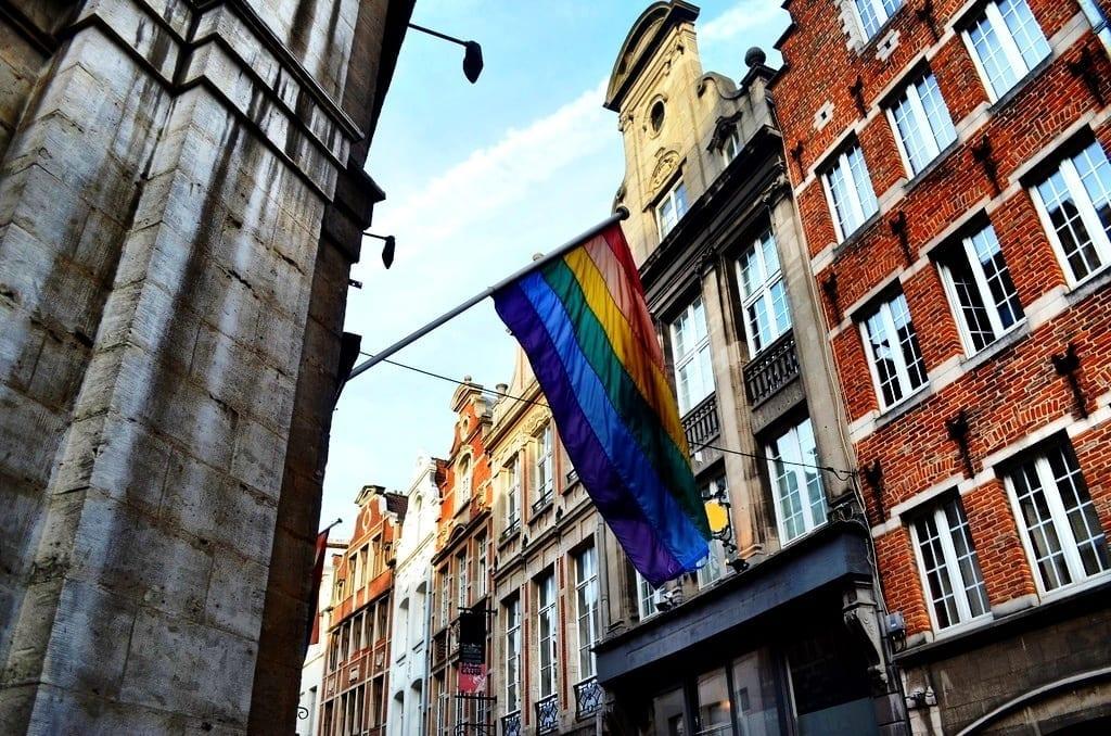 LGBT Pride Flag, Brussels