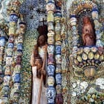 Shrine to the Virgin Mary in Valladolid, Mexico
