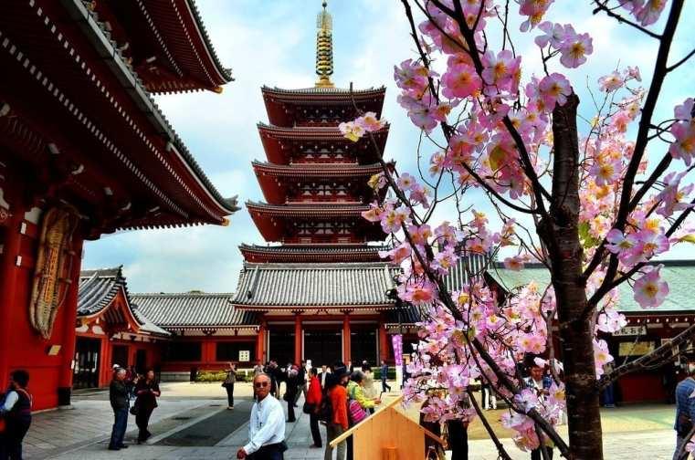Sensoji Temple, Japan