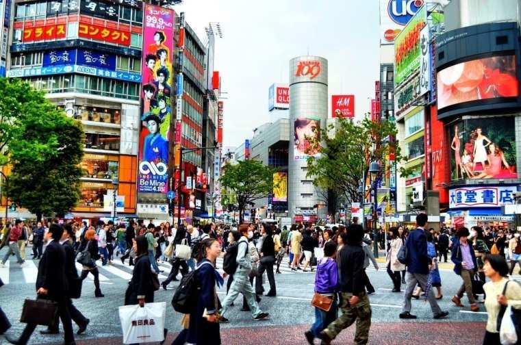 Shibuya Crossing‎