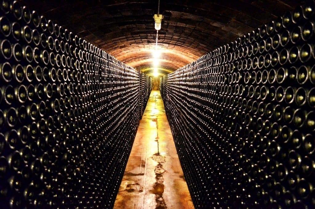 Cava cellar Spain