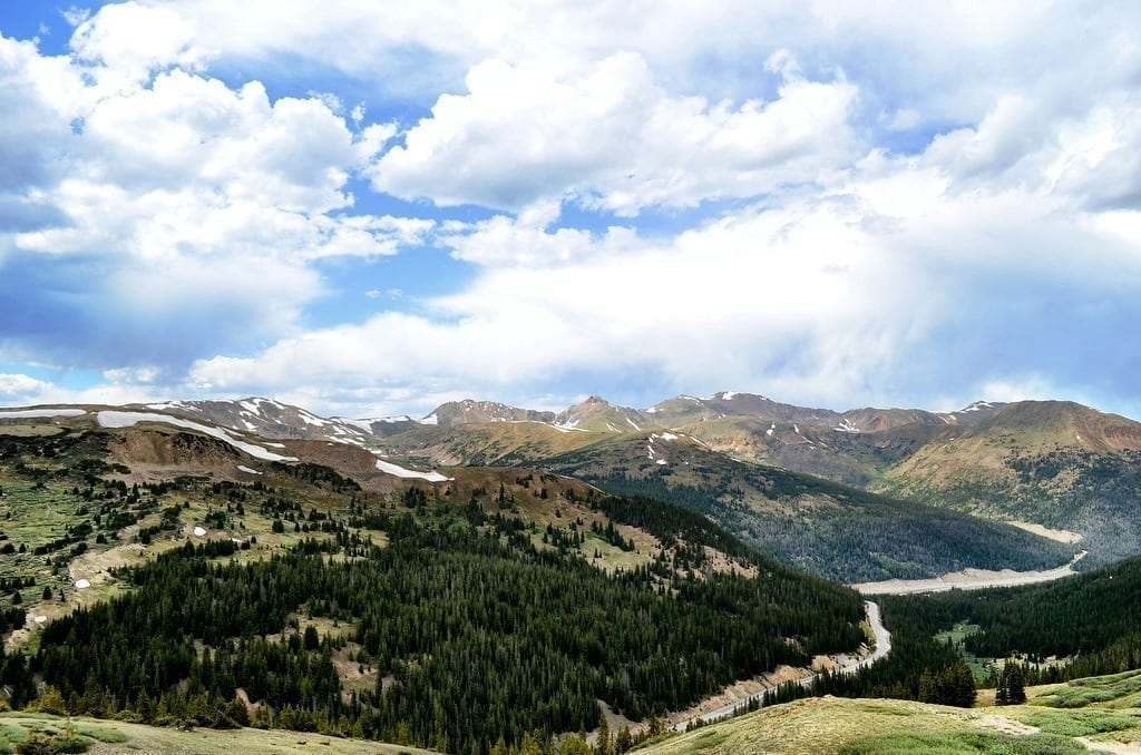 Continental Divide at Loveland Pass, Colorado