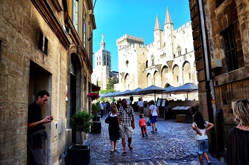 Pope's Palace Avignon, France