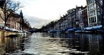 Amsterdam Canal from the Water