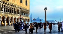 Shadows in St Mark's Square, Venice
