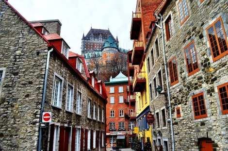 Quebec City fontainbleu