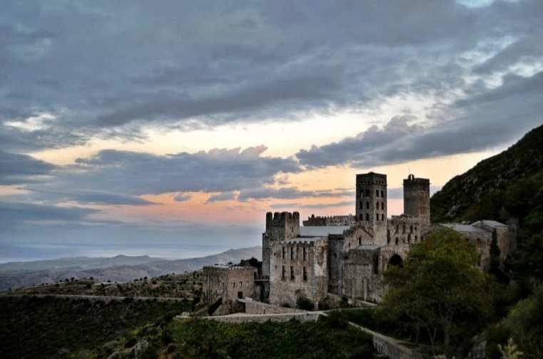 Sant Pere de Rodes Monastery, Spain
