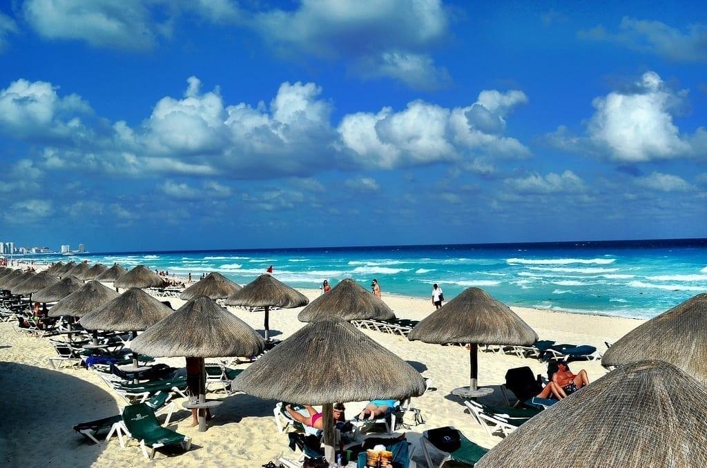 Beach Paradise in Cancun, Mexico