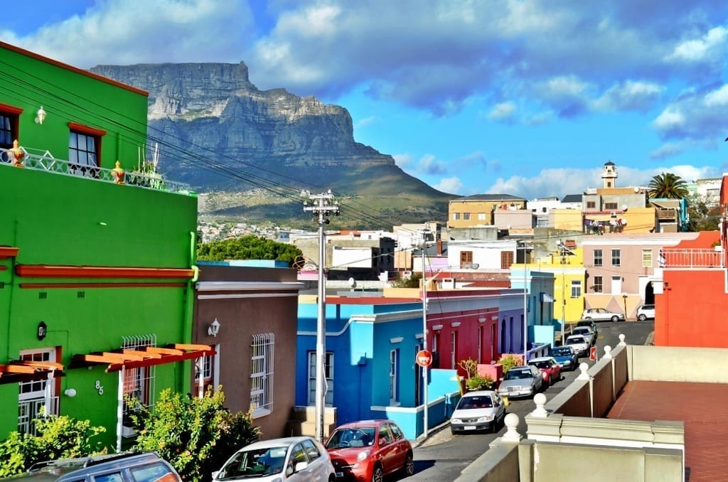 Bo Kaap table Mountain