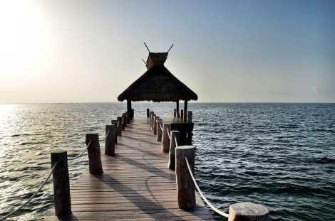 Dock Cancun Mexico