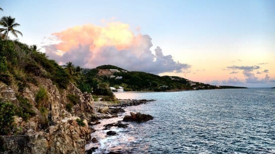 St Thomas USVI sunset
