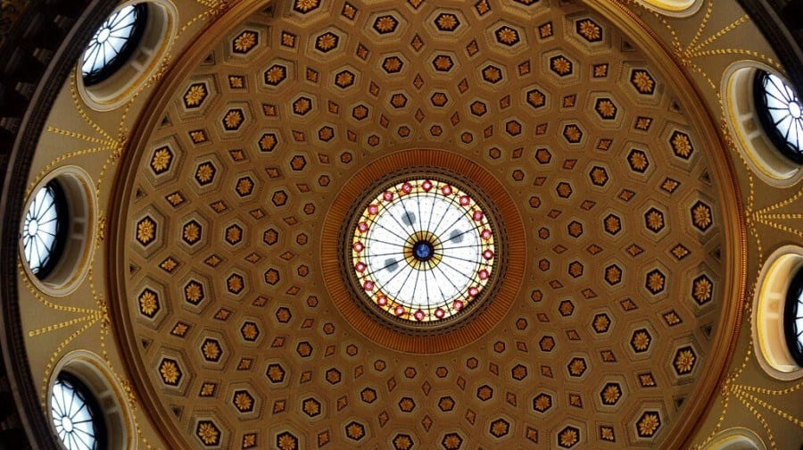 Dubin City Hall Dome