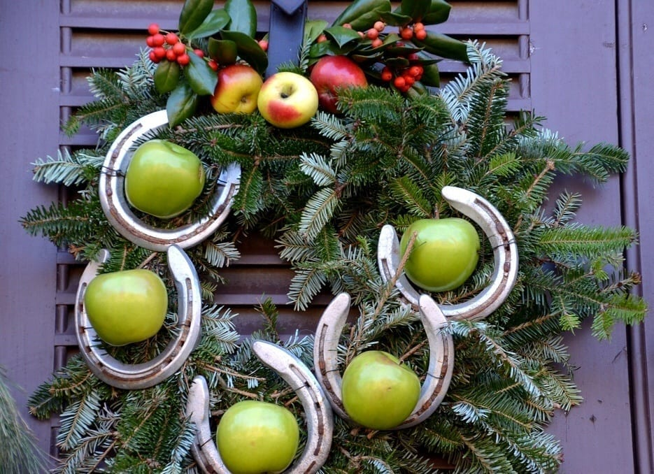 Williamsburg Virginia Christmas Wreath