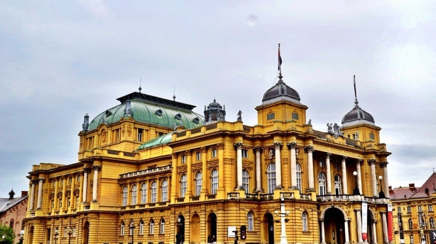 Croatian National Theatre Zagreb Croatia