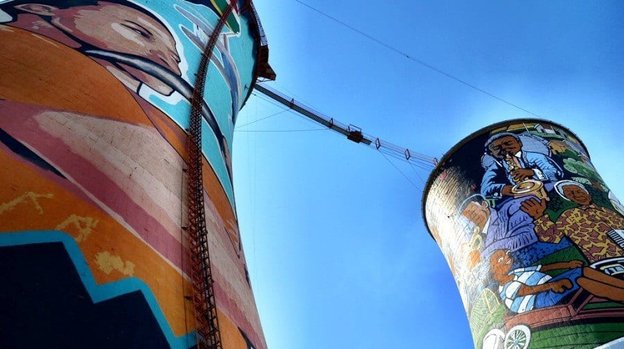 Orlando Towers, Soweto South Africa