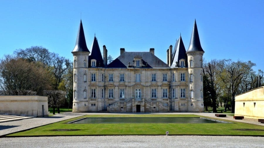 French Chateau Bordeaux France