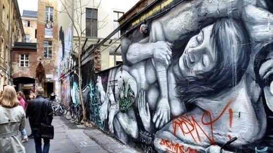 Berlin, Germany graffiti art