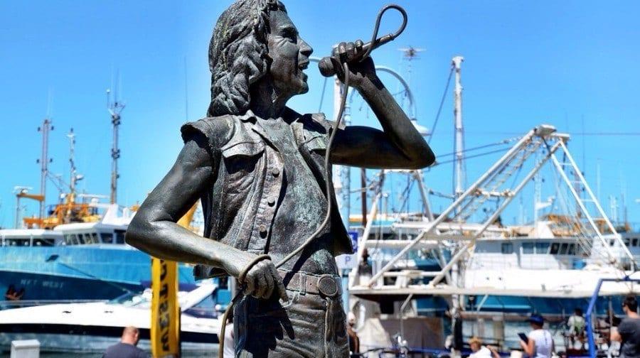 ACDC Statue Australia