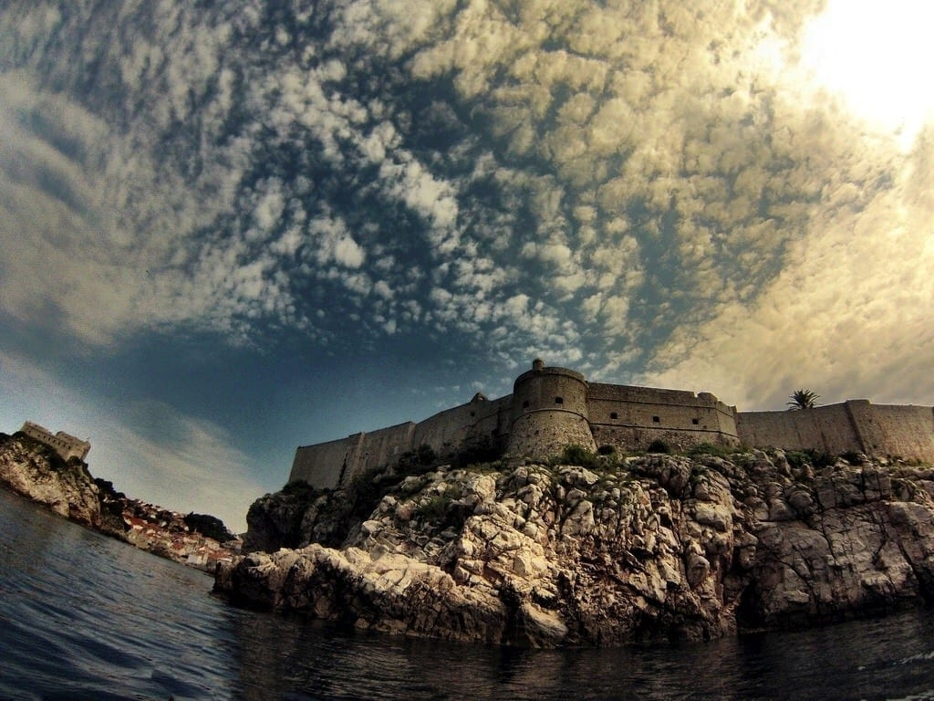 Dubrovnik Croatia kayak