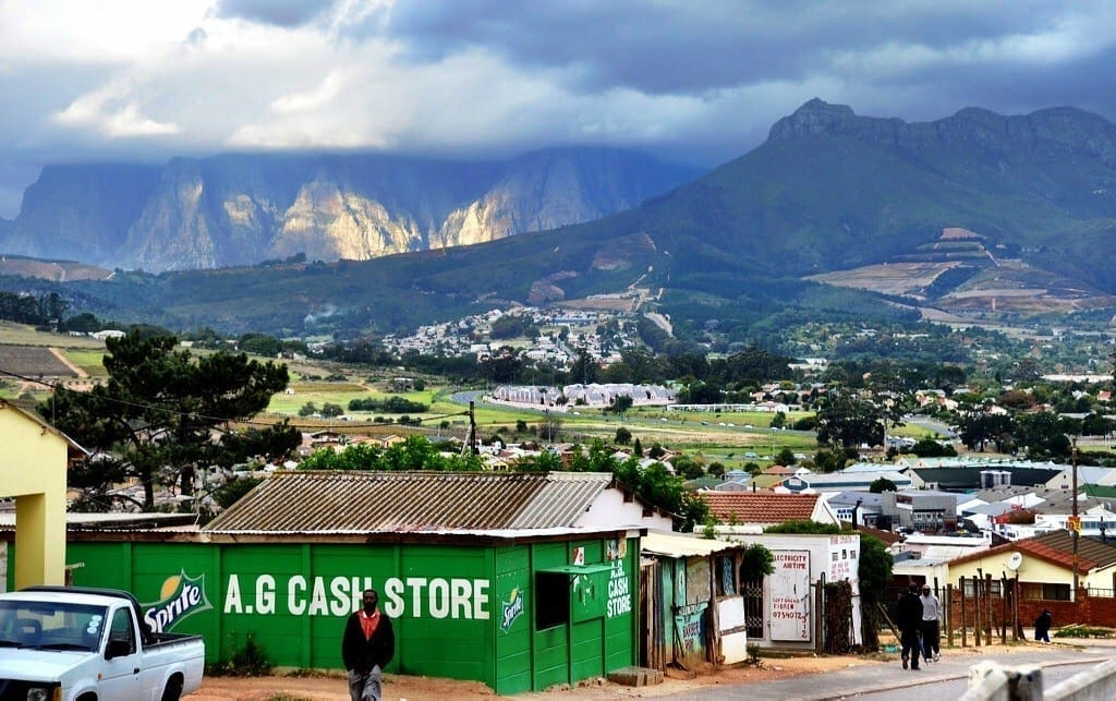 Kayamandi Township, Stellenbosch, South Africa