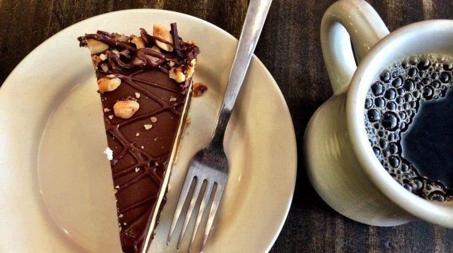 coffee shop cake