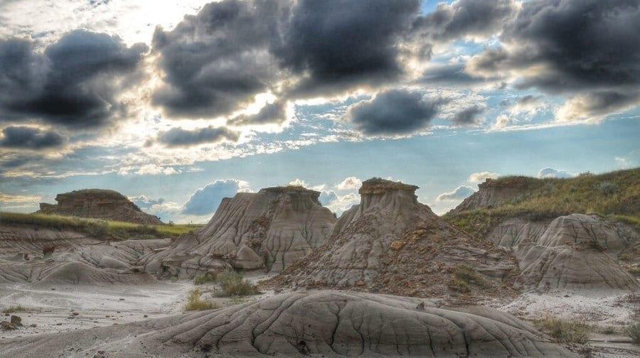 Dinosaur Provincial Park Alberta Canada
