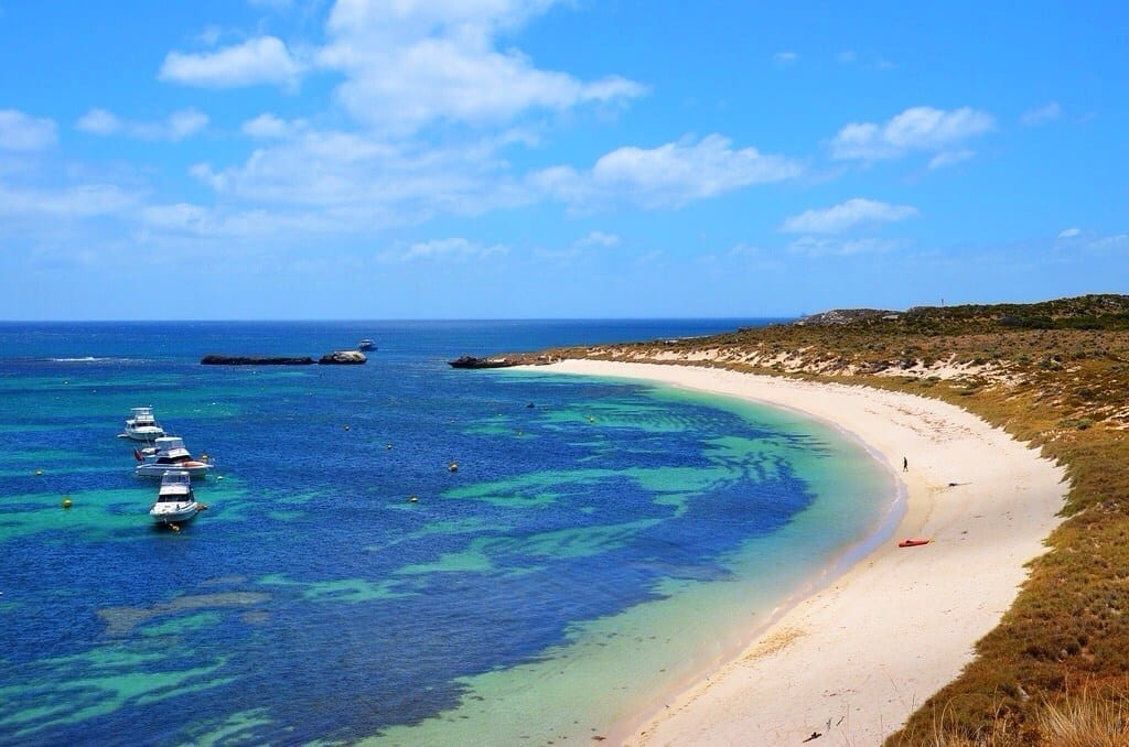 Rottnest Island Australia  city pictures gallery : Blue Waters Of Rottnest Island, Australia
