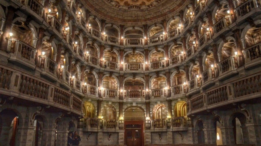 Mantua Italy theater