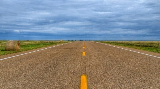 Alberta Canada Road