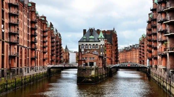 Hamburg Germany Speicherstadt Warehouse District