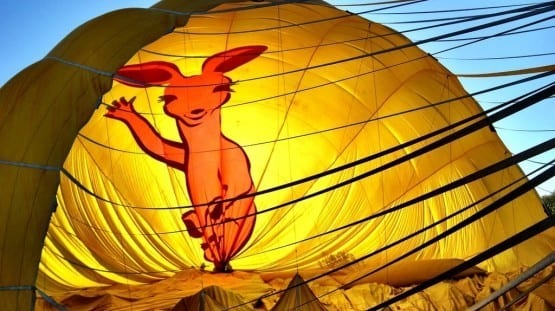 Cairns Hot Air Balloon Queensland Australia