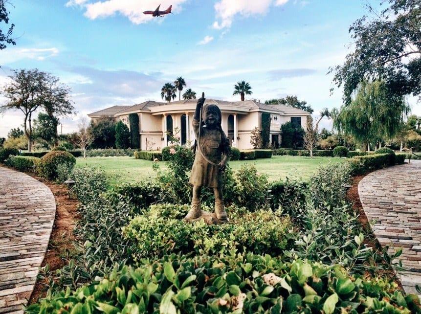 Wayne Newton's Casa de Shenandoah Las Vegas