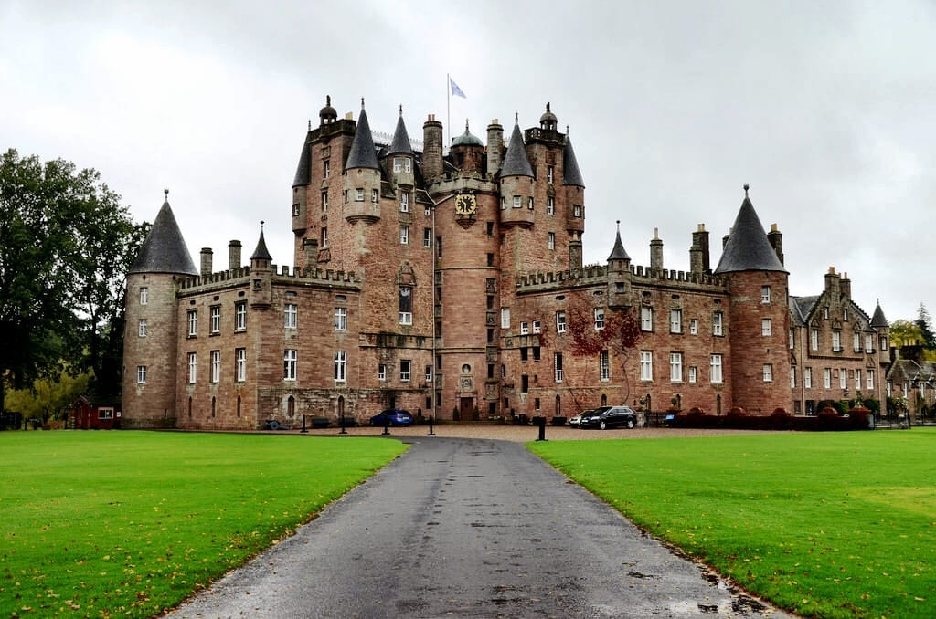 Glamis Castle Scotland UK