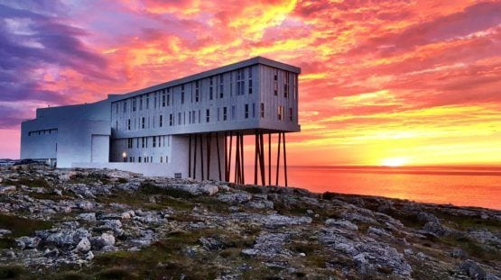 Fogo Island Inn Newfoundland Canada